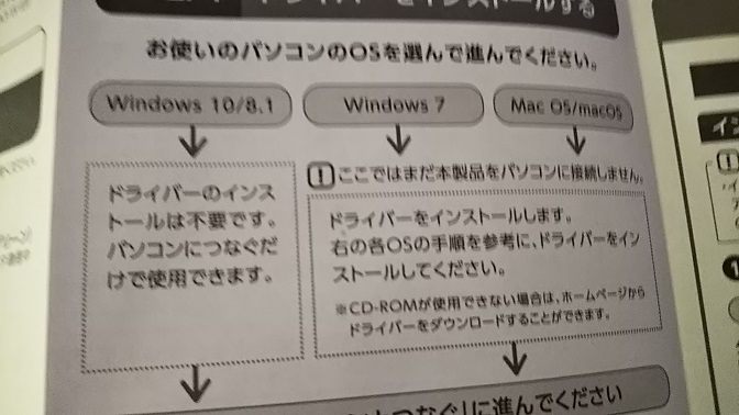 Windows10はOK