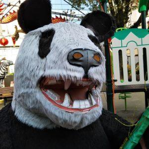 怖いほうのパンダ